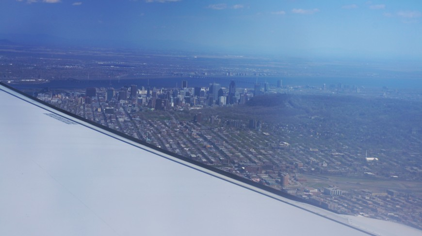 Montréal vu du ciel
